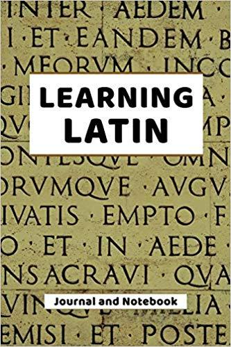 Learning Latin Journal and Notebook
