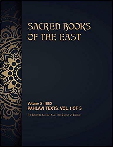 Pahlavi Texts: Volume 1 of 5