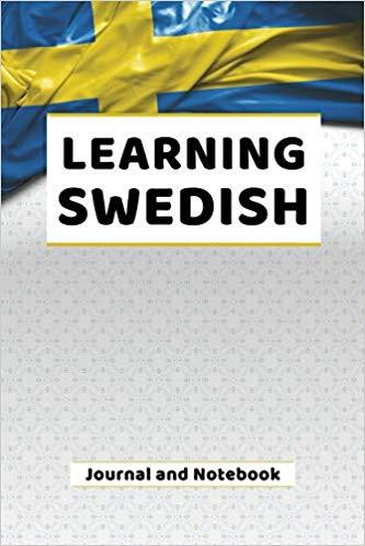 Learning Swedish Journal and Notebook